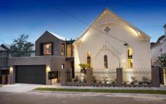 église transformée en maison familiale