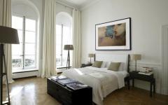 chambre à coucher suite hôtel particulier