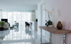 intérieur d'appartement en duplex luxe
