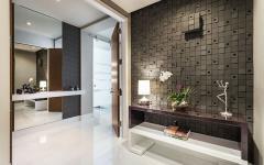 entrée appartement design luxe