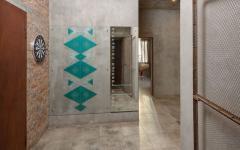 entrée original design intérieur éclectique appartement t3 studio