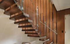escalier appartement en duplex design luxe