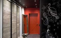 entrée moderne loft design masculin