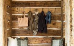 entrée maison rustique bois authentique déco