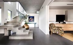 intérieur minimaliste et luxueux maison moderne