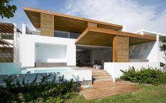 vue extérieure résidence travaux modernisée