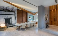 salle à manger maison moderne familiale