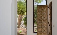 intérieur de villa de vacances exotiques en Espagne