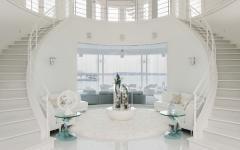 intérieur design luxe en blanc