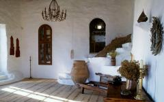 intérieur résidence en pierre rustique
