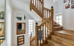 escalier en bois rustique design