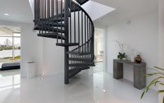escalier d'intérieur designer