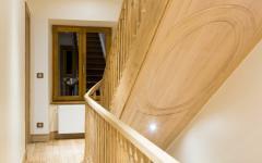 escalier bois artisanal