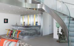 escalier design maison architecture moderne