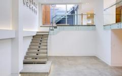 escalier intérieur design chic