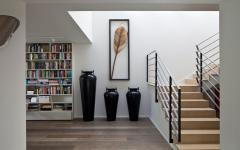 intérieur maison de ville luxueuse et moderne