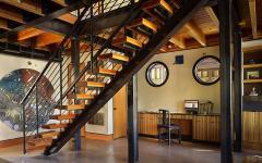 intérieur éclectique moderne et spacieux