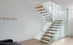escalier design luxe