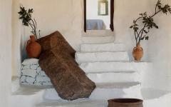 Décoration traditionnelle rustique maison de vacances
