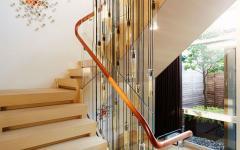 escalier triplex de standing luxe design masculin