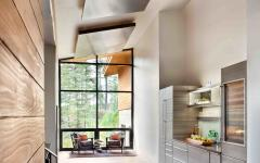 couloir chalet moderne luxe