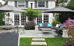 terrasse maison de campagne sympa