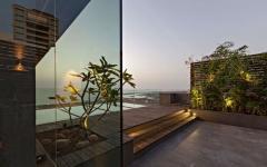 terrasse appartement duplex sur le toit