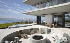 espace extérieur maison de vacances luxe