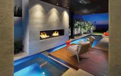 Terrasse et piscine de luxe