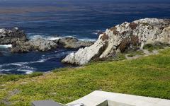 jacuzzi près de la plage californienne