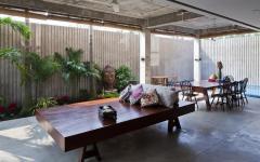 décoration rez-de-chaussée jardin zen