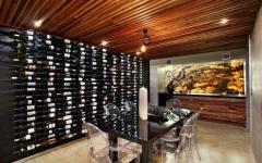 cave salle de vins à la maison