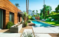jardin de luxe maison prestige américaine