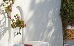 extérieurs jardin soignés entretenu maison de vacances ibiza