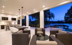 Espace outdoor maison contemporaine