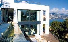 terrasse espaces extérieurs de luxe villa à louer vacances france