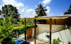 belle résidence moderne singapour