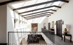 poutres plafond haut propriété de standing