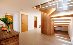 étage espace sommeil belle demeure côtière cornwall