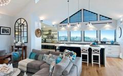 résidence secondaire plage rénovation agrandissement extension moderne