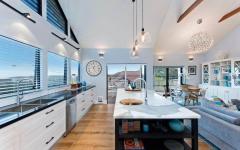 cuisine moderne contemporaine extension maison