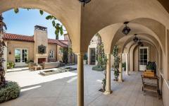 patio cour intérieure résidence de grand standing