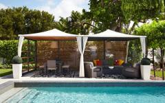 terrasse exotique maison de vacances luxe