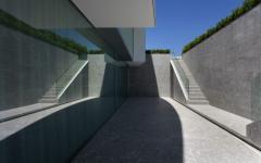 espace béton contemporain maison d'architecte