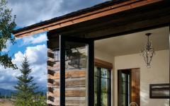 maison rustique terrasse luxe