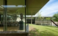 parc privé maison contemporaine de haut standing