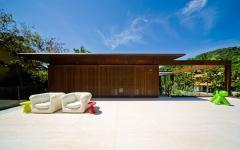espace outdoor maison contemporaine luxe