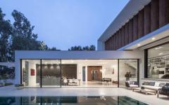 Terrasse maison d'architecte moderne