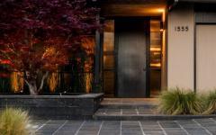 l'entrée maison de ville design