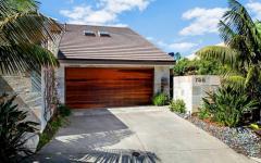 belle maison sur la côte californienne